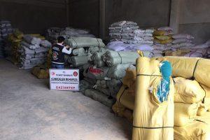 Gaziantep'te 4 Milyon TL Değerinde Ticari Eşya Kaçakçılığı Ortaya Çıkarıldı
