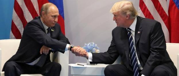 Trump ve Putin ilk kez karşı karşıya