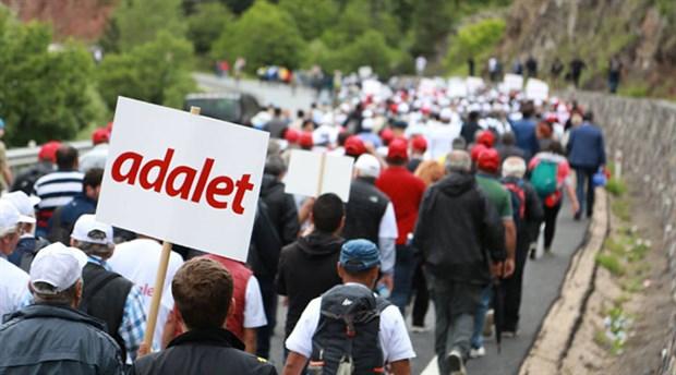 HDP'li Vekiller Adalet Yürüyüşünde!