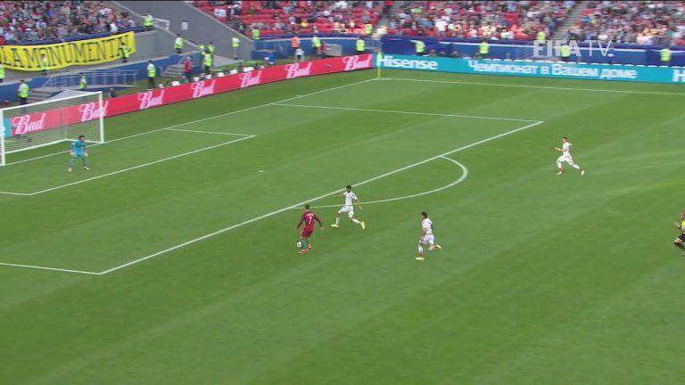 Portekiz ve Meksika Maçında Skandal Düşüş!