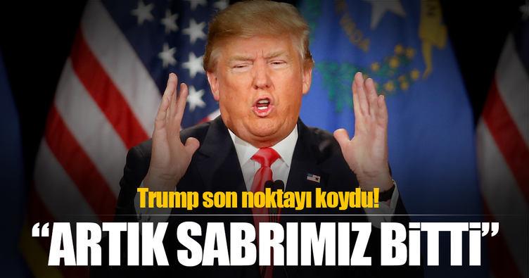 Trump'tan Savaş Çıkartacak Açıklama!
