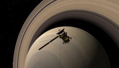 Cassini, Satürn Atmosferinde Parçalandı