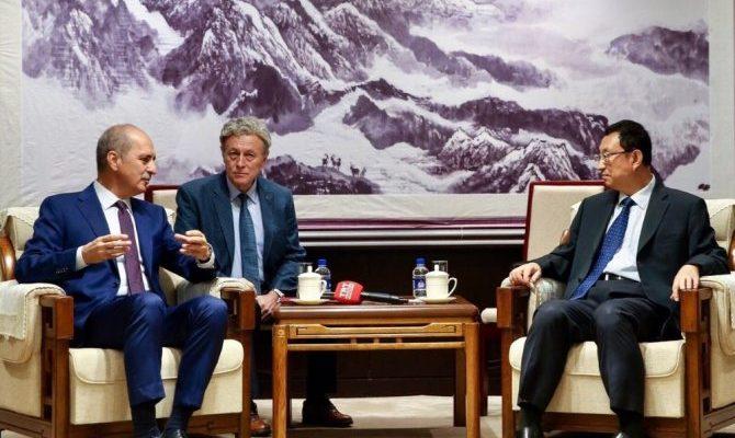 Kültür ve Turizm Bakanı Numan Kurtulmuş Çin'e Gitti