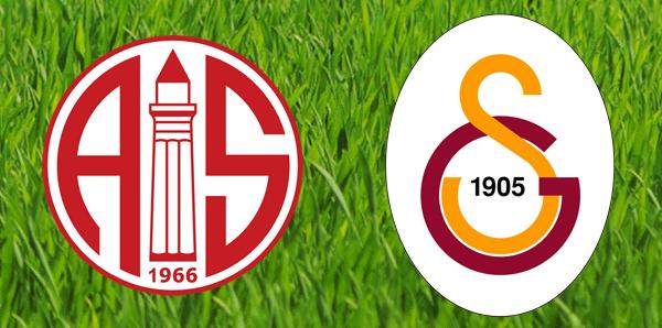 Antalyaspor – Galatasaray Maç Sonucu 1-1