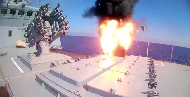 Rusya Daeş'ı Füzelerle Vurdu