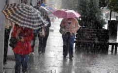 İstanbul'a Sağanak yağış geri geliyor