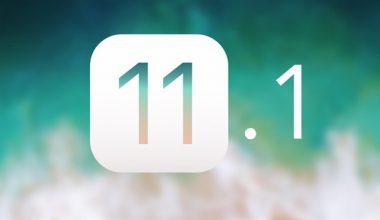 Apple Yeni iOS 11.1 Güncellemesi Yayınlandı!