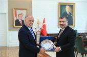 Bakan Koca Libya Büyükelçisini Kabul Etti