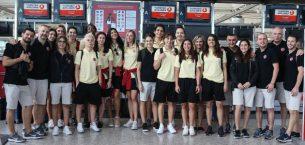 A Milli Kadın Takımımız Dünya Şampiyonası'na Katılmak İçin Tenerife'ye Gitti