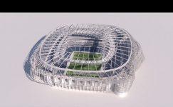 Real Madrid'in yeni stadı tanıtıldı