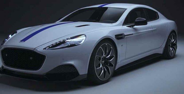 "Aston Martin'in İlk Elektrikli Arabası ""Rapide E"""
