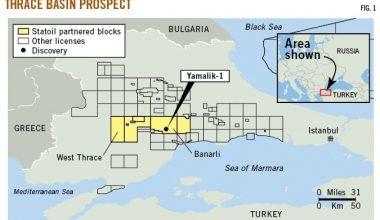 Trakya bölgesinde zengin doğal gaz rezervi bulundu.