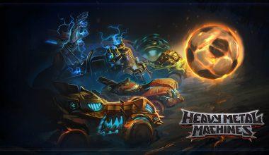 Espor'da yeni rekabet alanı Heavy Metal Machines!