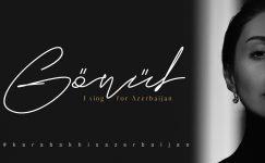"""Diriliş Ertuğrul oyuncusu Gönül Nagiyeva, farklı müzik türlerinde seslendirdiği performansında """"Karabağ Azerbaycan'dır""""  mesajı verdi"""