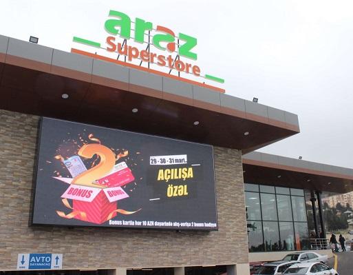 Araz Supermarket Yeniliklere Açık Bir Marka Yolunda İlerliyor