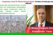 Araştırmacı Yazar Dr. Mimar Hüseyin Demir, 'Kentten, Kırsala göç teşvik edilmeli!